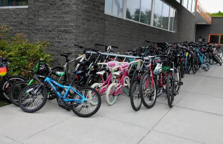 bike to school bikes