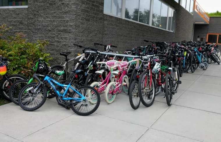 bike to school bikes